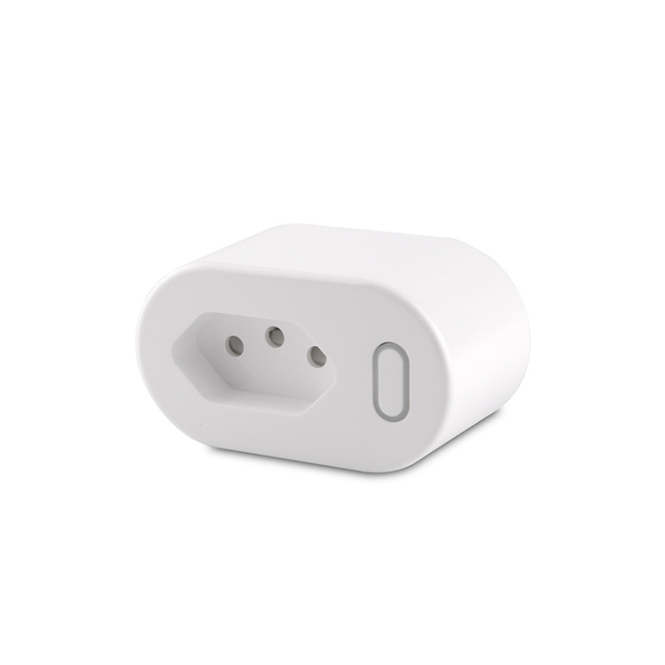 Brazilian Standard 10A Wi-Fi Smart Plug With Power Metering Function