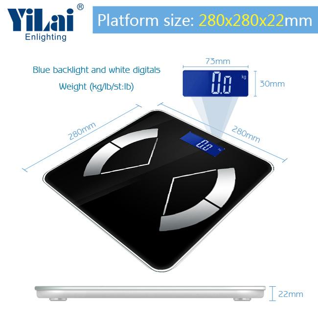 Yilai Wi-Fi Digital Smart Electronic Scale