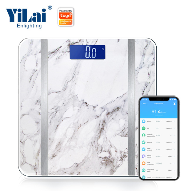 Yilai Wifi Smart  Over 15+ functions  body fat scale