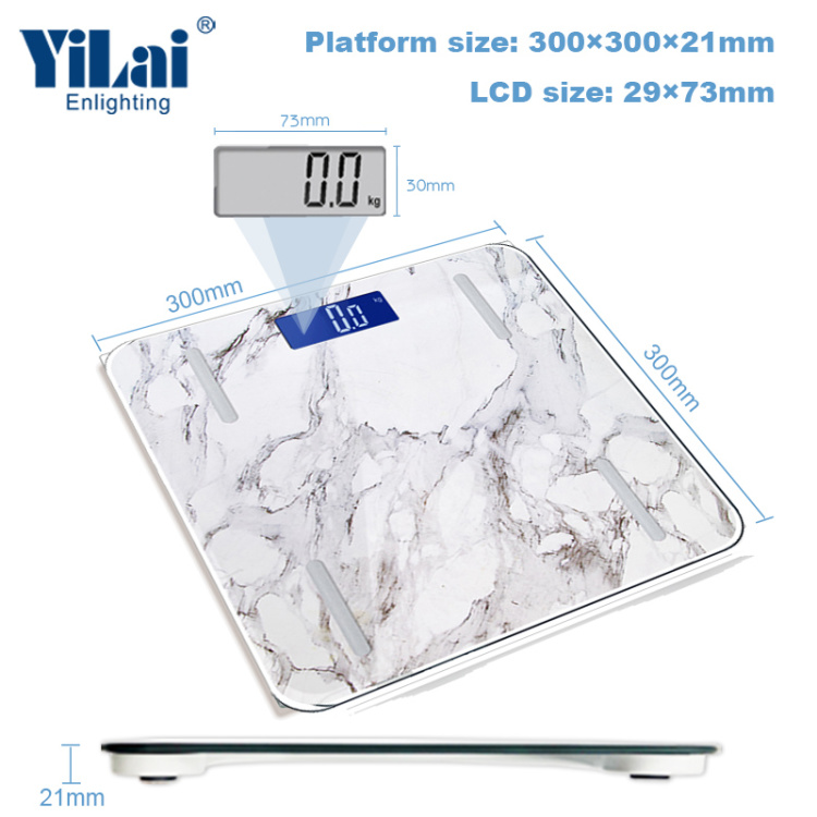 Yilai Wi-Fi Smart  Over 15+ Functions  Body Fat Scale