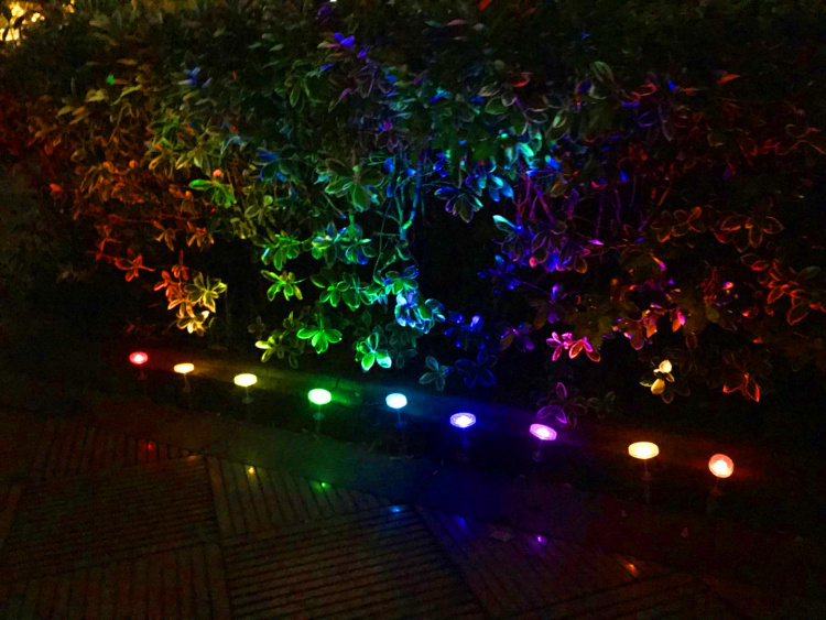 Smart Outdoor Mini Garden Spotlights