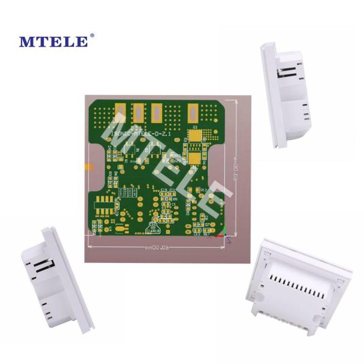 Tuya APP No Neutral Wire Single fire switch 2 Gang Smart Zigbee Wall Switch