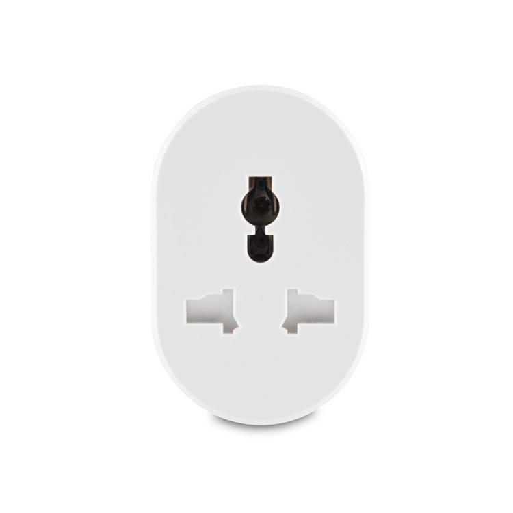 Indian Standard 10A Multi-function Wi-Fi Smart Socket Oval Shape