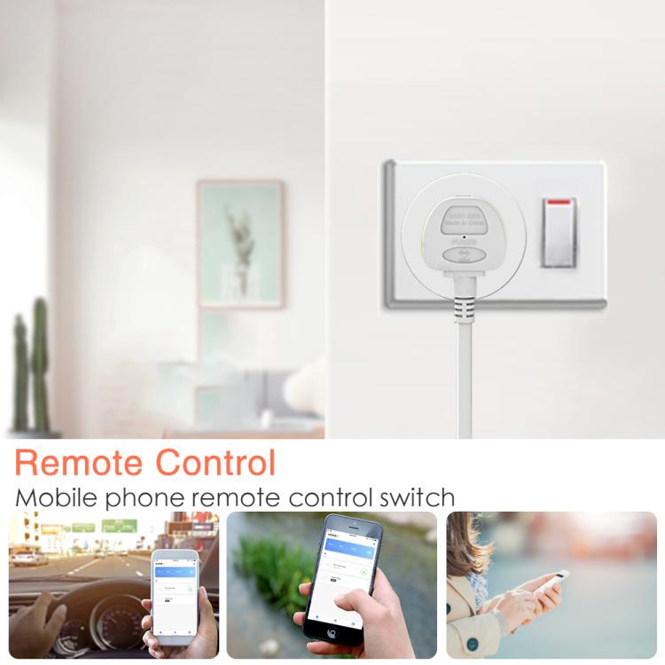 UK Wi-Fi Smart Plug Socket
