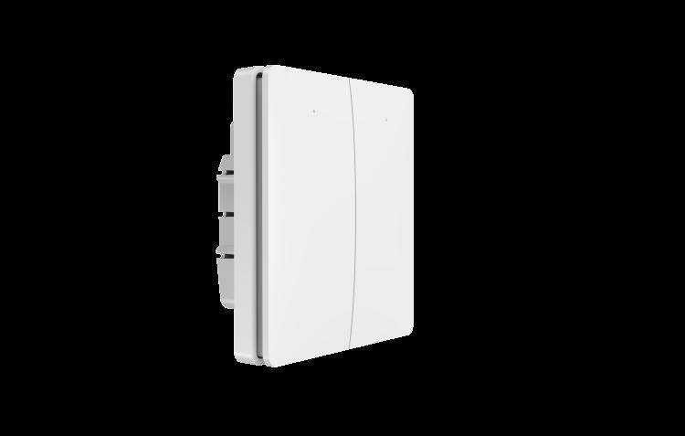 Linptech Q3D Smart WiFi wall switch two gang smart light control