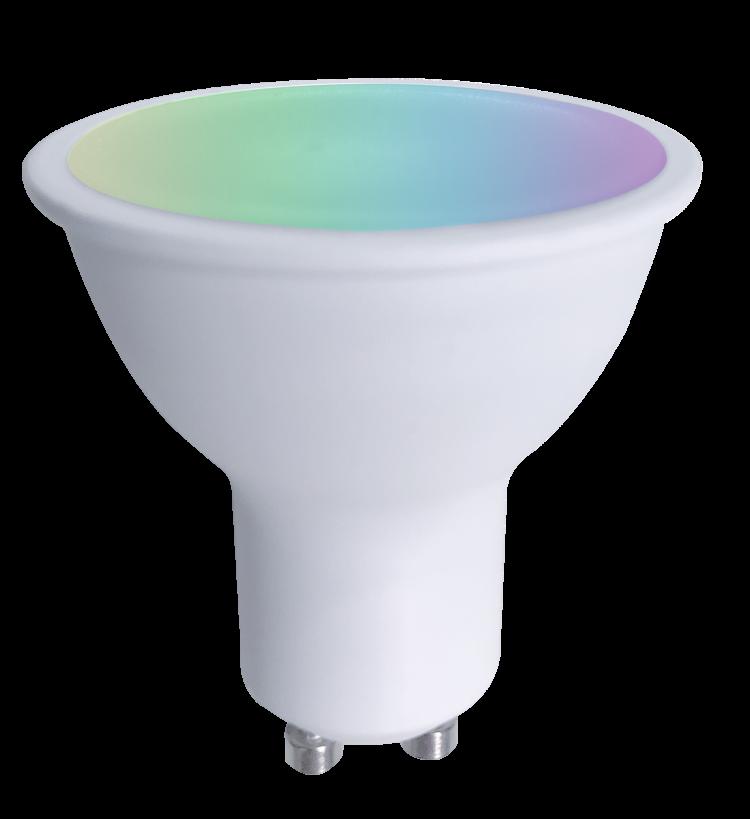 LED Smart GU10 RGB+W WIFI+BLE