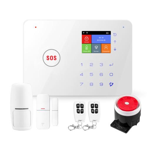 GSM+WiFi Alarm System