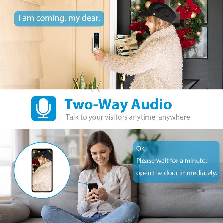 NGTeco Wi-Fi Video Doorbell