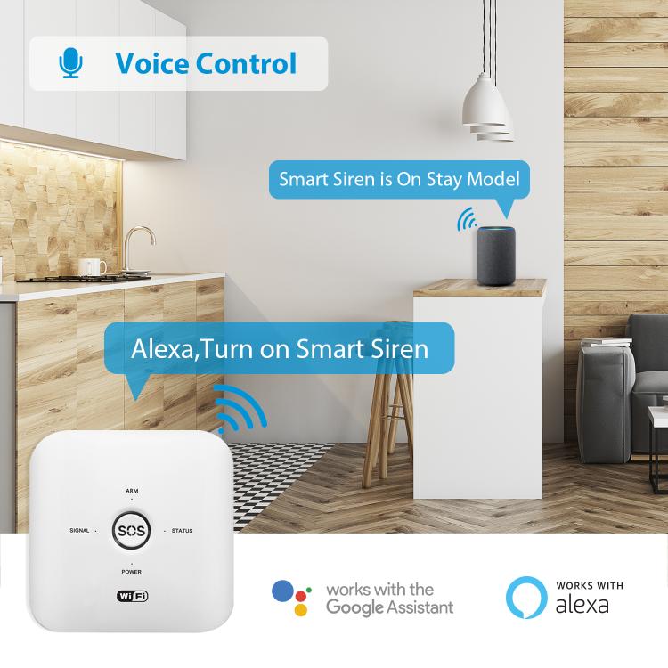 NGTeco Wi-Fi Alarm System Security Sensor Kit (Motion Sensor/Motor Sensor/Remote Key)