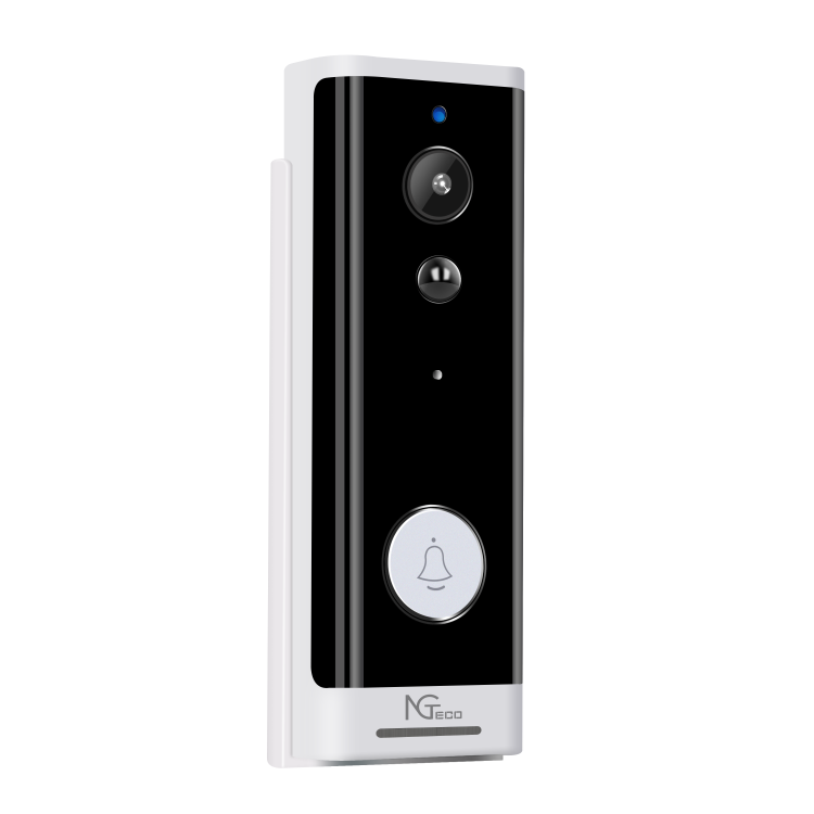 NGTeco DIY Video Doorbell For Semi-outdoor with wifi & Vioce Control & 1080p HD Video