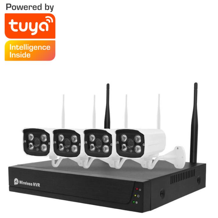 4CH 1080P Wireless Kit  Alexa  Googlehome