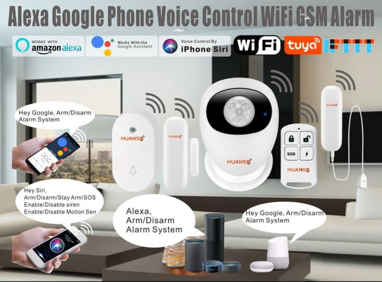 Wi-Fi GSM Alarm System