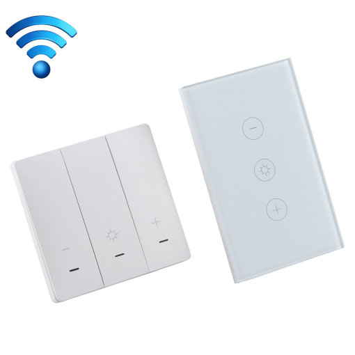 Smart Wi-Fi Dimmer Switch Double Side Controlled