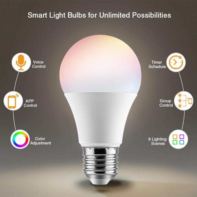 Wi-Fi Smart LED Light Bulb