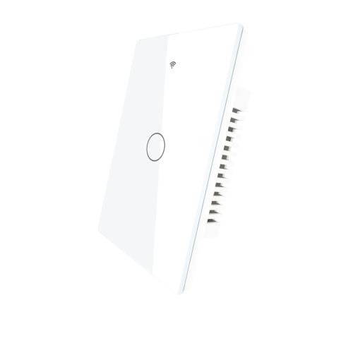 Wi-Fi+Blu 90-250V Wi-Fi Smart Switch With Glass Panel
