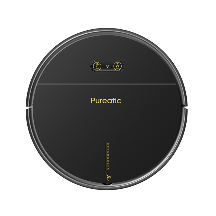 Vacuum Cleaner Robot With Center Brush Wi-Fi+APP Control Work