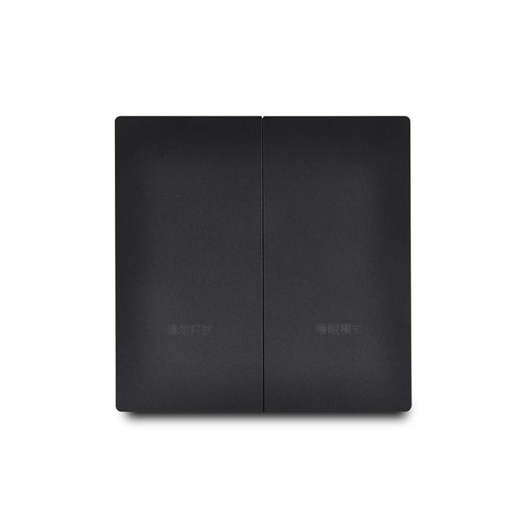 2 Gang 10A 250V Zigbee Smart Wall Switch Remote Control
