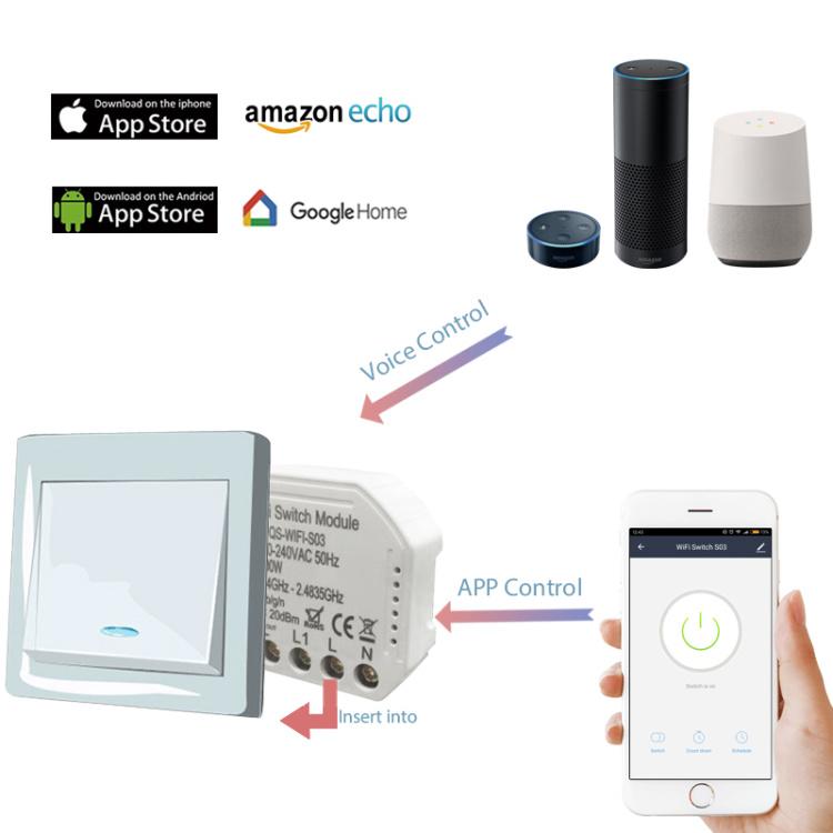Smart Wi-Fi Switch Module
