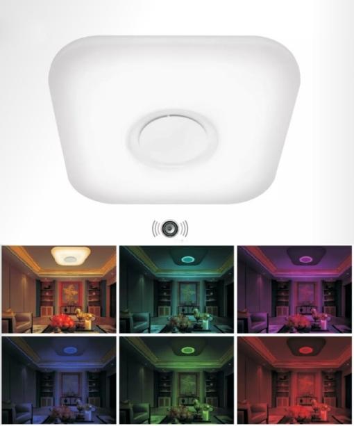 Wi-Fi Bluetooth Smart Led 36W/48W RGBW Music Light