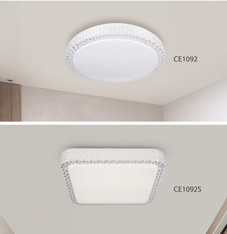 smart ceiling lights, CCT + Dimmable