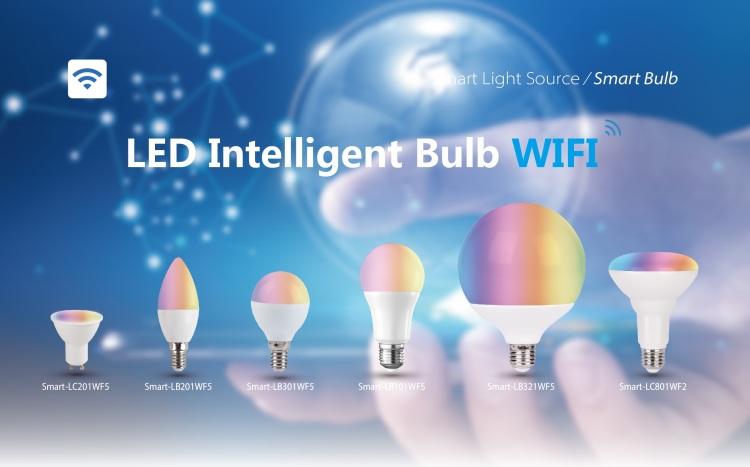 LED Intelligent Bulb Wifi