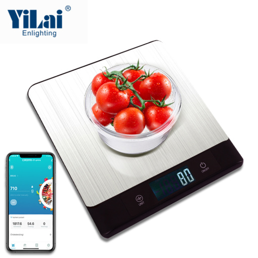 Yilai Bluetooth Nutrition Kitchen Food Scale