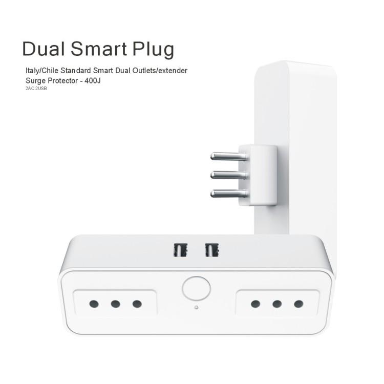 Dual Plug 2x2 ( Chile)