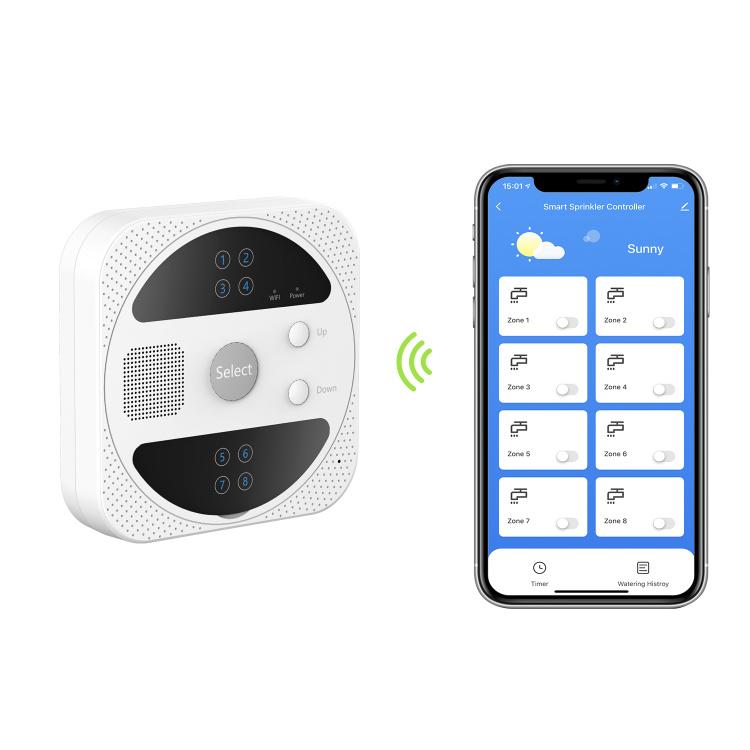 8 Zones Wi-Fi Sprinkler Controller