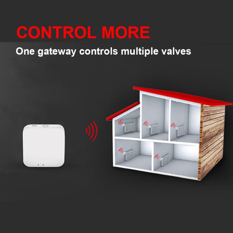 SASWELL Smart Zigbee Thermostatic Radiator Valve