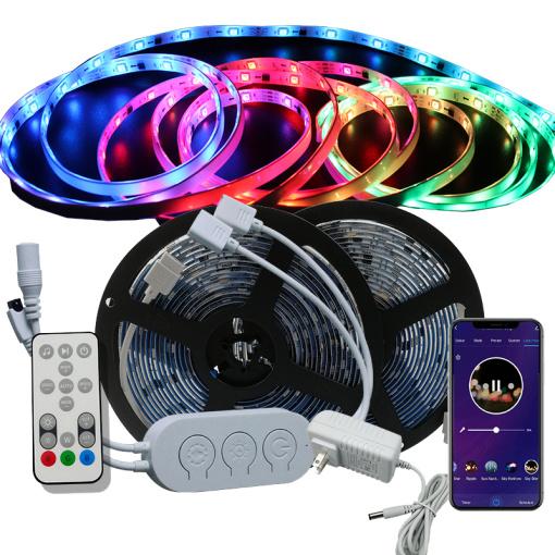 32.8ft(10M) 12 Wi-Fi DreamColor Music LED Strip Lights