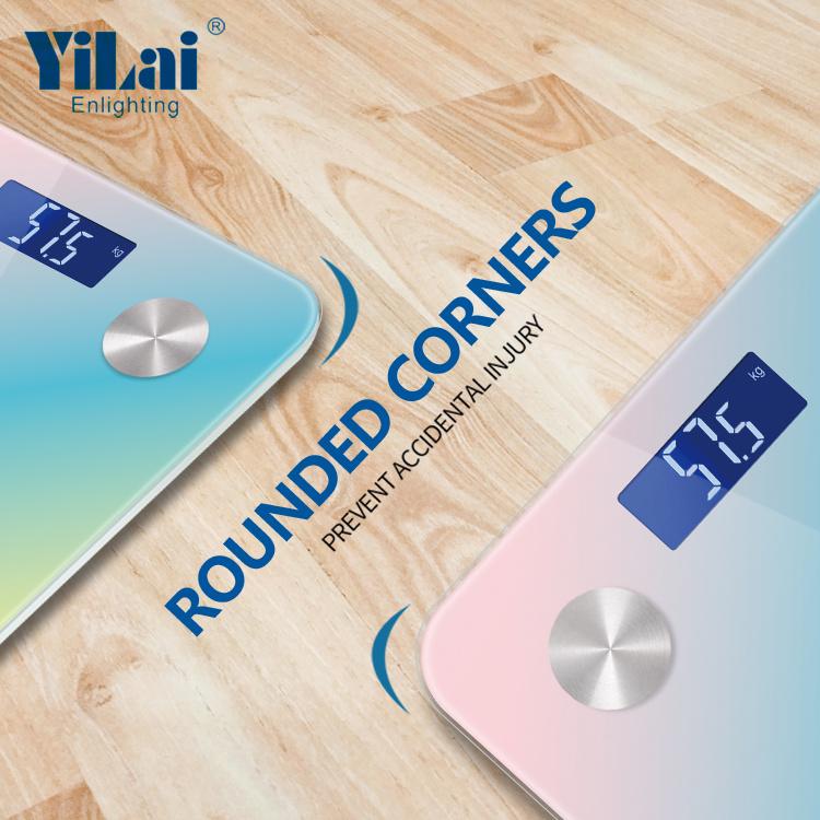 Yilai Wifi Digital Smart electronic Scale_Fantacy color