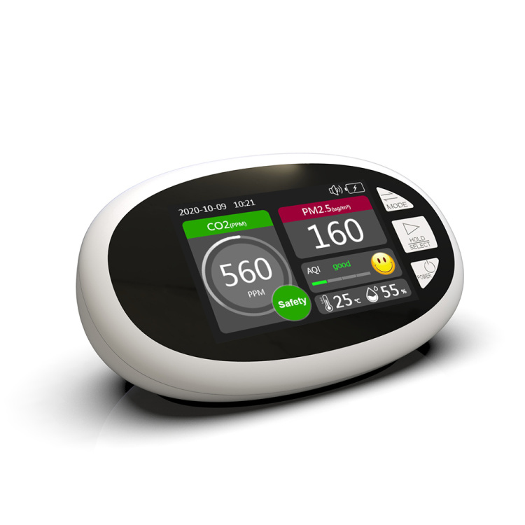 Dienmern hot sale air quality for CO2 and PM2.5 detector