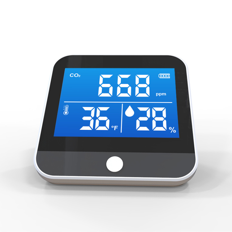 Air quality monitor for CO2