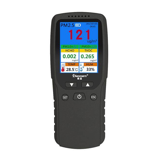 Air quality monitor for PM2.5 HCHO TVOC