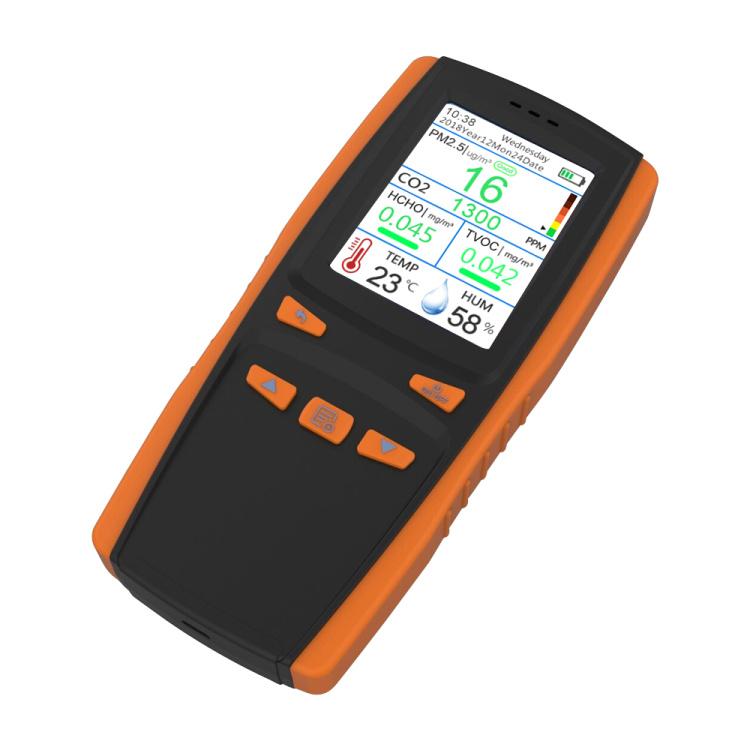 Air quality monitor for PM2.5 CO2 HCHO TVOC
