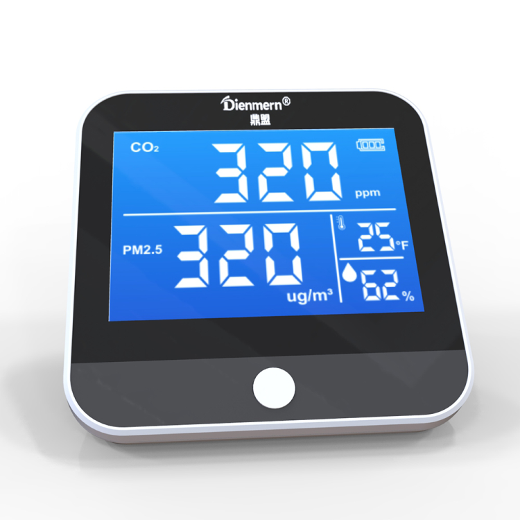 CO2 Monitor PM2.5 Detector Thermometer
