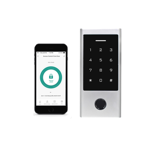 Bluetooth Fingerprint Keypad Access Controller with 125KHz Card Reader