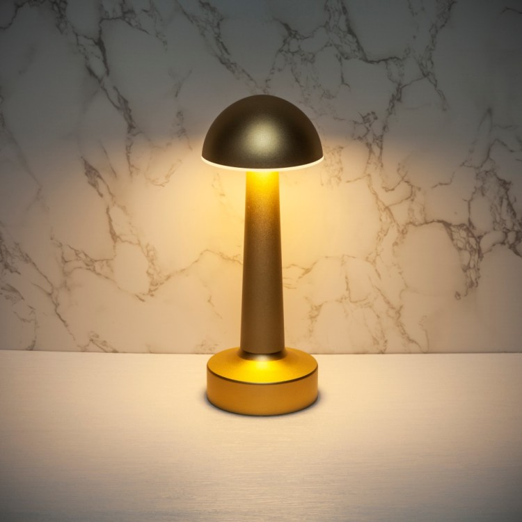 Smart Cordless Table Lamp, Modern Design Phone Control Portable Night Light for Living Rooms, Bedrooms and Camping