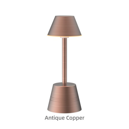 Wifi Rechargeable Table Lamp Dimmable RGBW Night Light, Waterproof for Living Rooms, Bedrooms and Outdoor