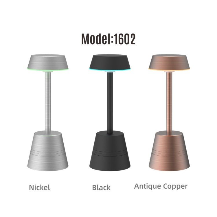 Smart Rechargeable Table Lamp Phonecontrol RGBW Night Light, Portable for Bedrooms, Living Rooms and Office