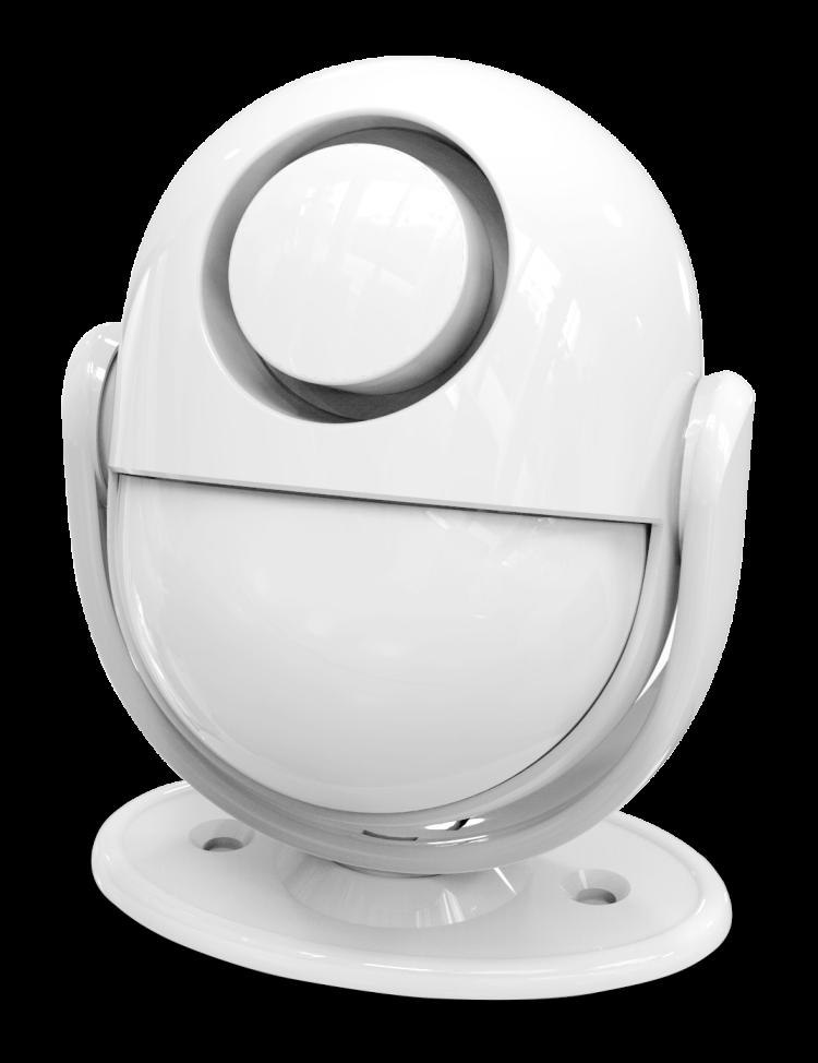 Wi-Fi/RF PIR Motion Sensor Alarm With Siren and Gateway Host Function