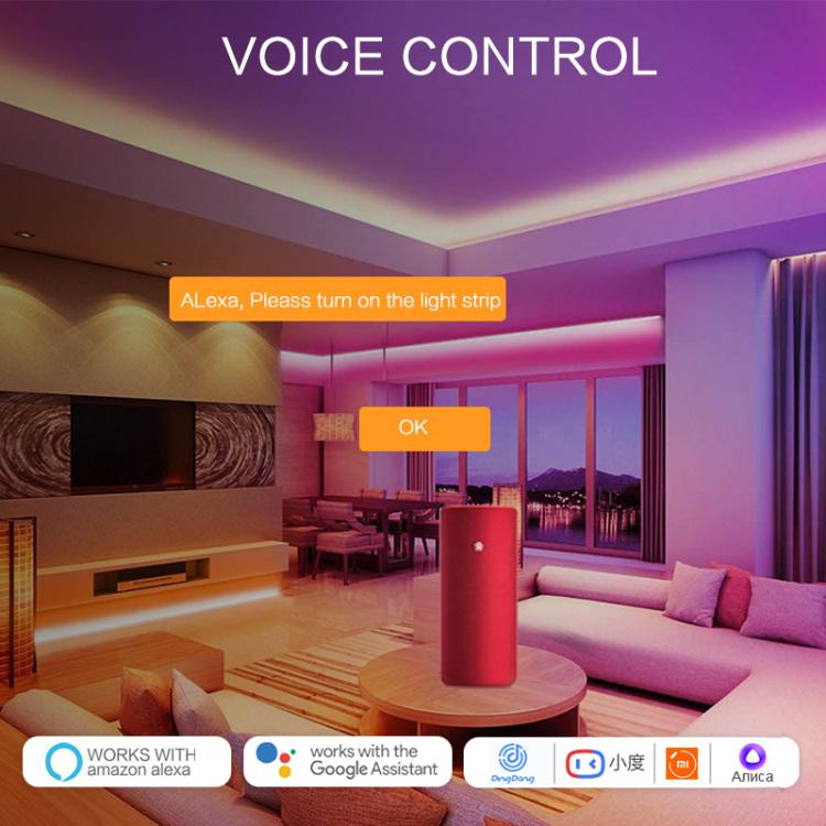 Smart WI-Fi LED Strip Controller(Digital Music)