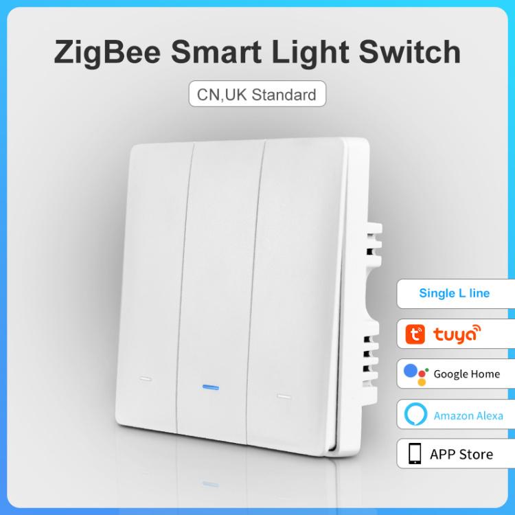 Zigbee Smart Lighting Controller 3 Gang