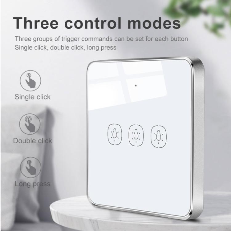 Zigbee Wireless Scene Switch 3Gang