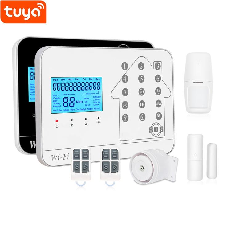 Tuya WIFI+GSM+PSTN  Alarm System