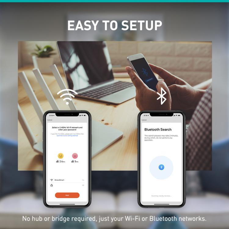 GU10  Diffusion Wi-Fi +Bluetooth RGB+CCT