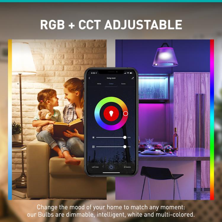 GU10  Wi-Fi +Bluetooth RGB+CCT