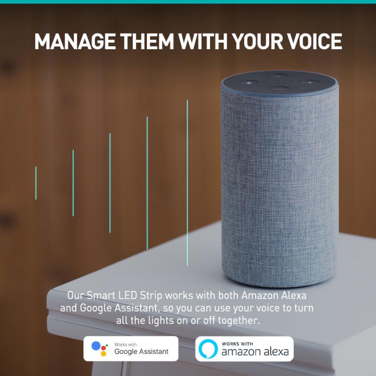 Smart LED Strip CCT Wi-Fi +Bluetooth