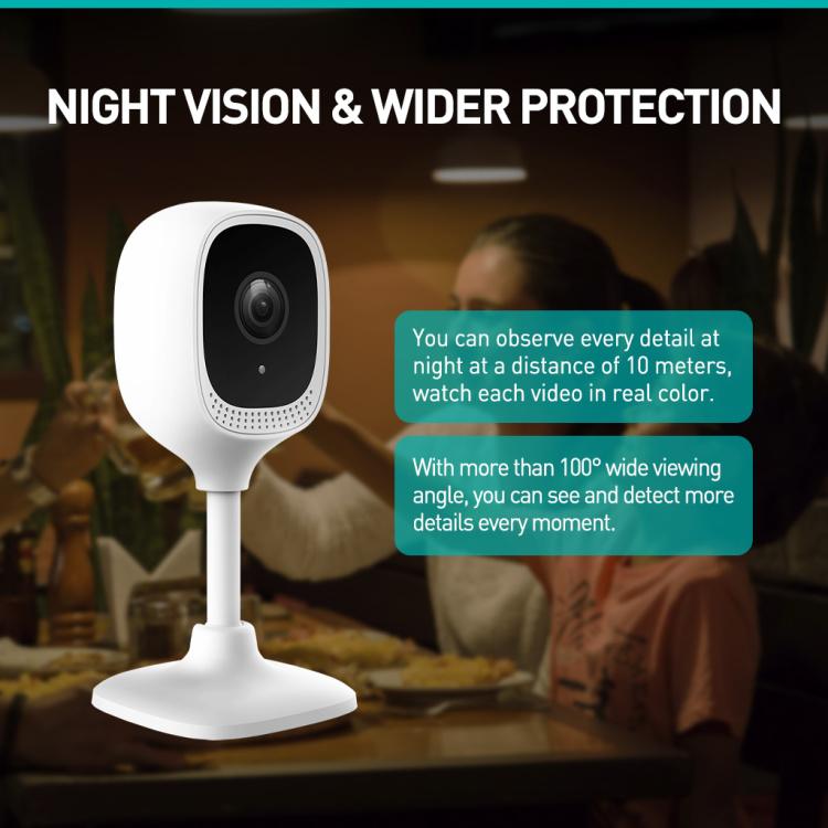 Smart Indoor Wi-Fi IP Camera