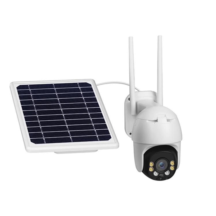 Unistone 2MP 8W 4G & Wi-Fi Wireless Solar PTZ Smart Speed Dome Camera